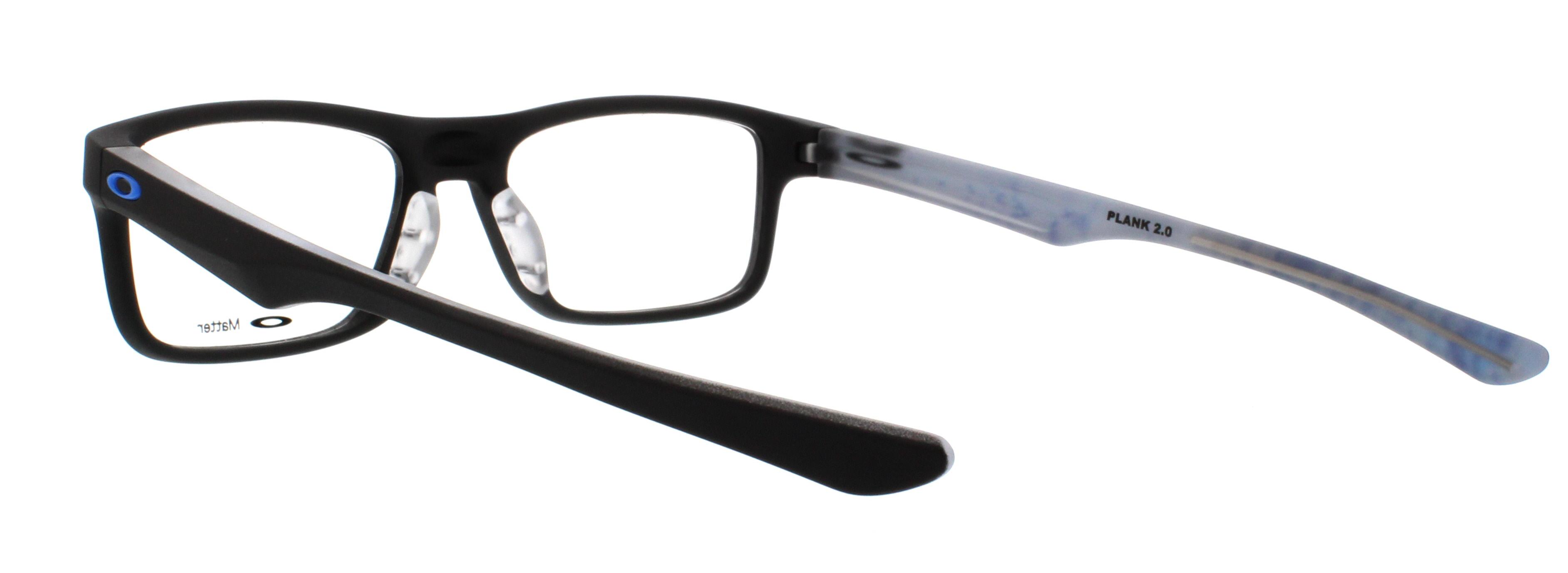 81f935dfba4 OAKLEY Eyeglasses PLANK 2.0 (OX8081-0151) Satin Black 51MM - Walmart.com