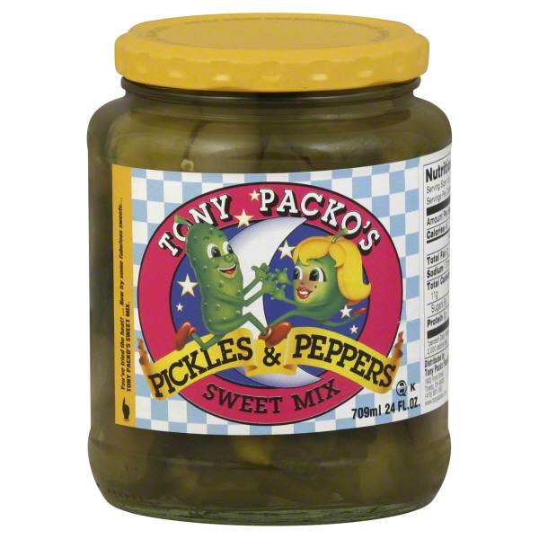 Tony Packo Food Tony Packos  Pickles & Peppers, 24 oz