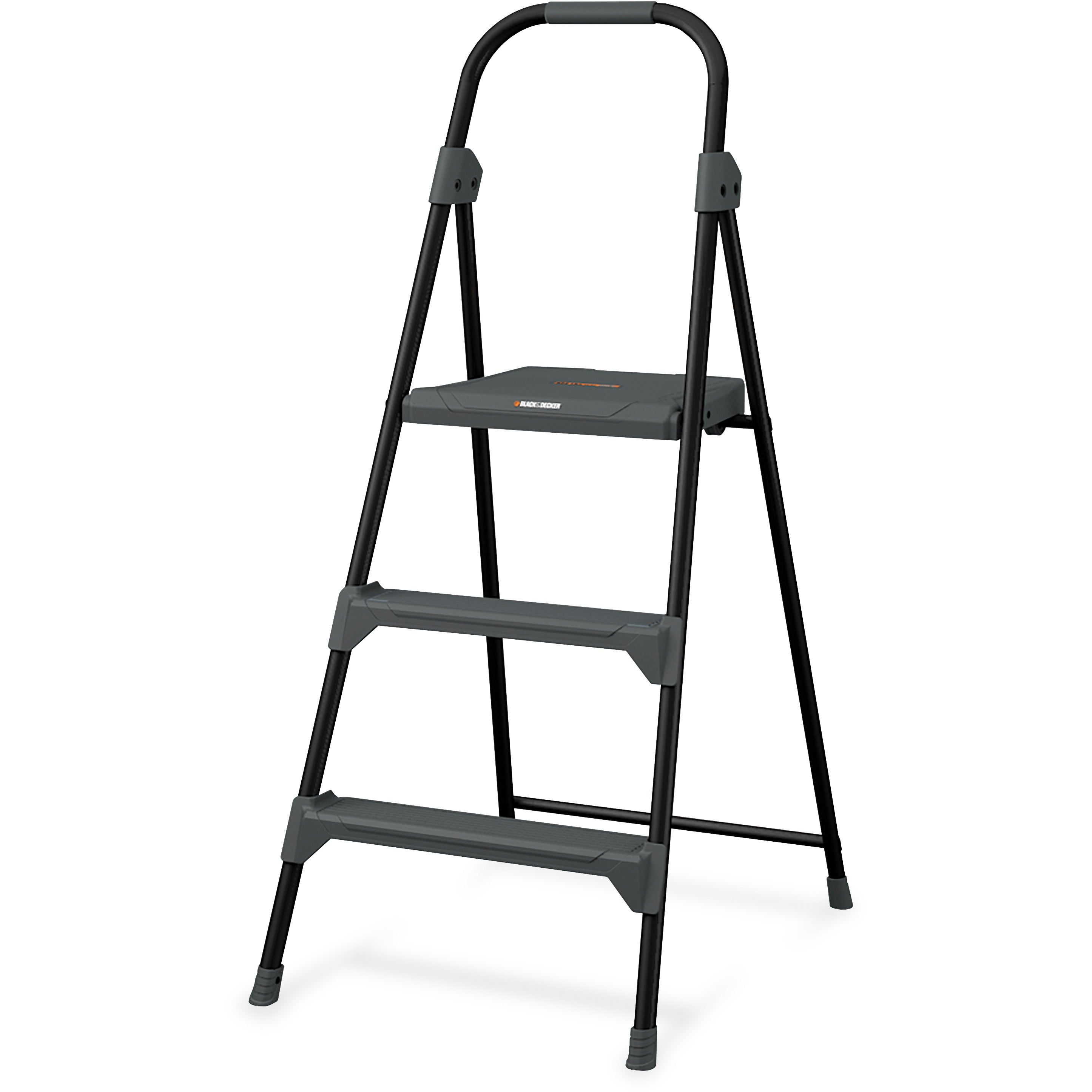 Louisville, DADBXL426003, 3' Steel Type II Step Stool, 1 Each, Gray