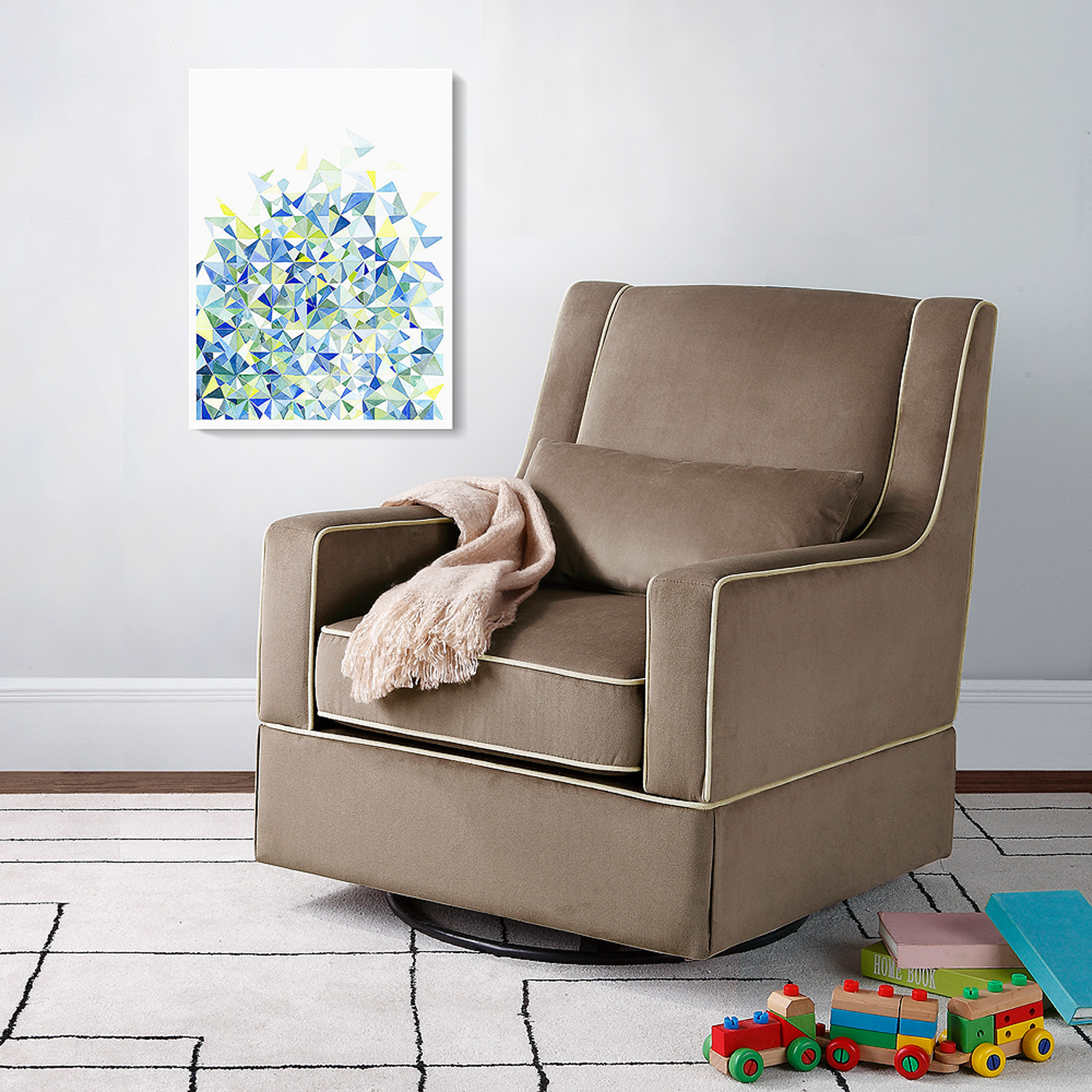 100 dorel rocking chair and ottoman bundle baby relax abby