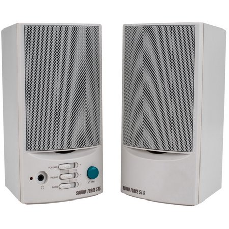 Sound Force 515 Powered Computer Speaker Pair