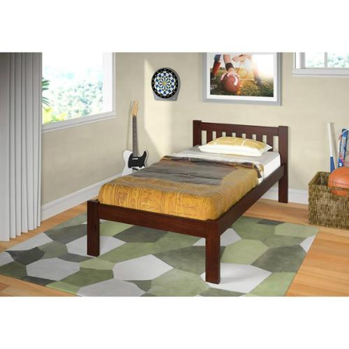 Donco Kids Donco Kids Mission Dark Cappuccino Bed Twin