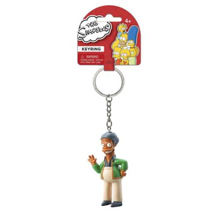 PVC Figural Key Chain - Simpsons - APU Figure Gifts Toys New 27744