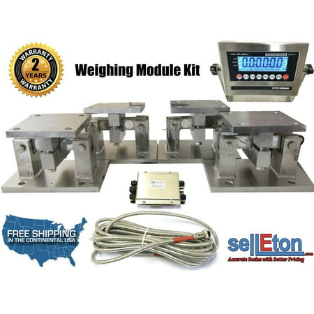 OP-313-TM Load cell Conversion kit weigh module for Scale Tank, Hoppers ( Double Ended Beam )