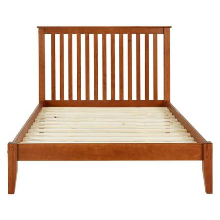 Mission Style Platform Bed, Multiple Sizes, Multiple Colors