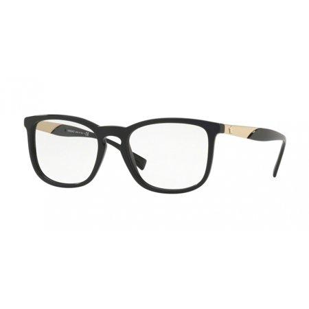 - Versace 3252 Eyeglasses GB1 Black