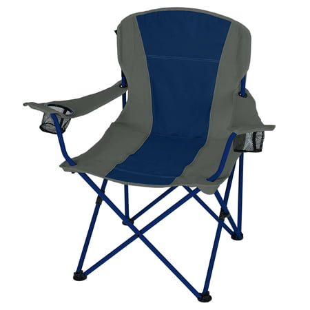 Ozark Trail Oversized Chair- Blue & Taupe