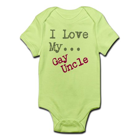 d2830b421 CafePress - CafePress - I Love My...Gay Uncle Body Suit - Baby Light  Bodysuit - Walmart.com