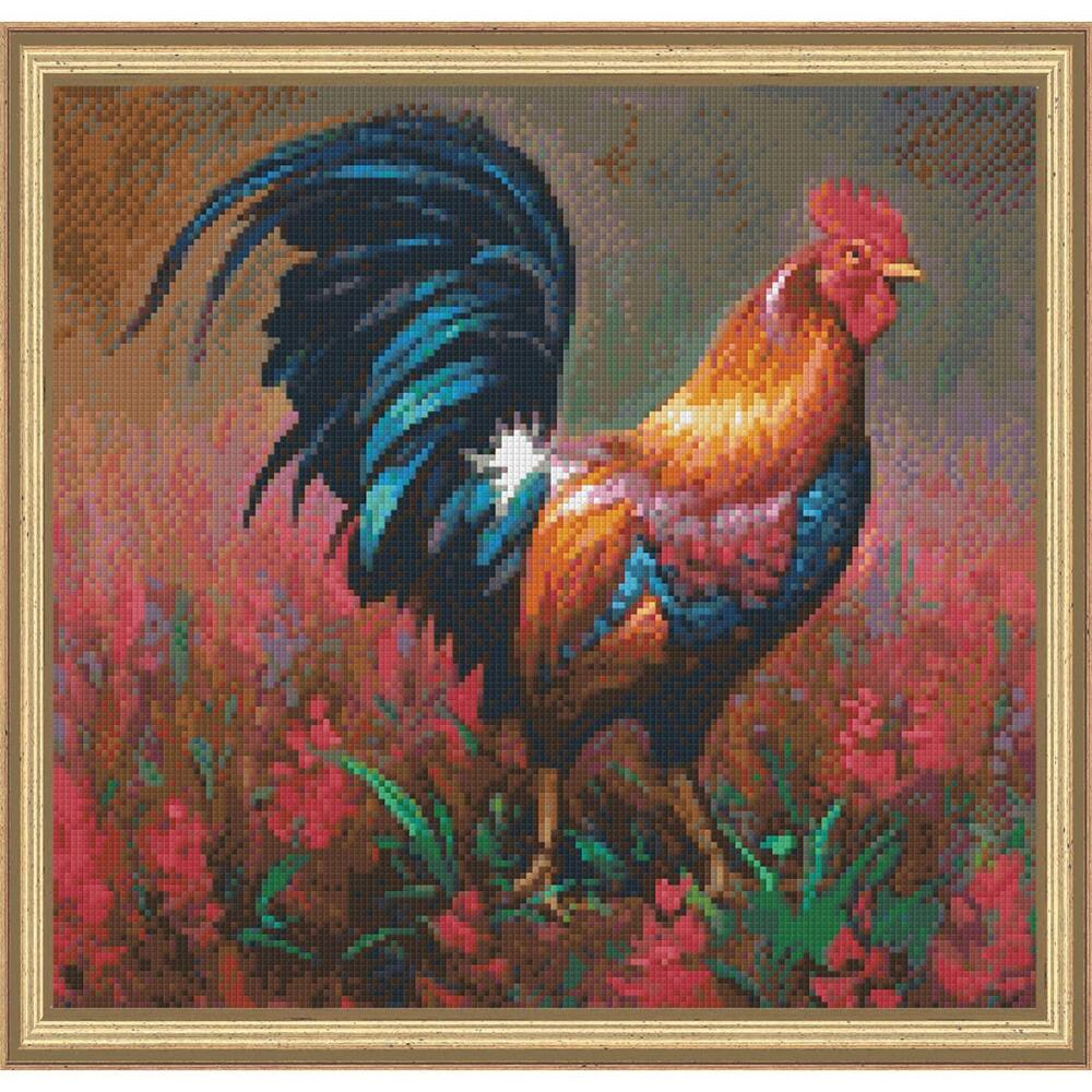 PixelHobby Colorful Rooster Mosaic Art Kit