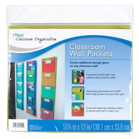 Mead Teacher Supplies 5 Pack Wall, - Teacher Supplies Store