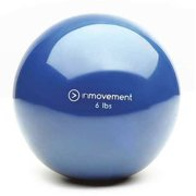 INMOVEMENT IM-WRBALL6-01 Weighted Ball,Blue,Silicone,6 lb. G1585337