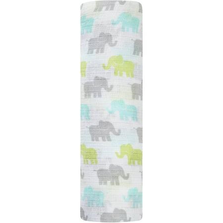 9274ef3783 Tall Tale Elephant Swaddle Blanket - Walmart.com