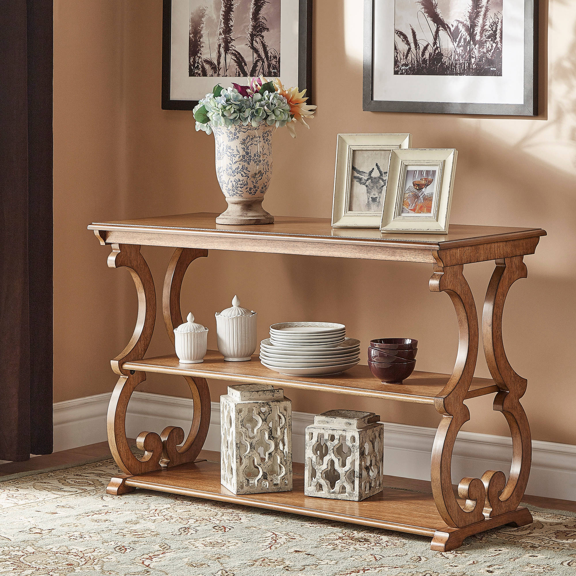 Weston Home Caden Sofa Table, Multiple Colors