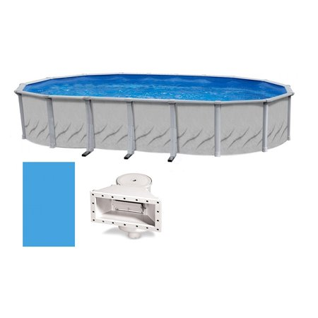 """Galeria Oval Above-Ground Swimming Pool   52"""" Height {Choose Size}"""