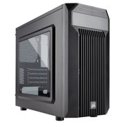 "Corsair Carbide Series Spec-m2 Microatx Gaming Case - Tower - Steel - 5 X Bay - 1 X 4.72"" X Fan[s] Installed - 0 - Micro Atx, Mini Itx Motherboard Supported - 10.58 Lb - 5 X Fan[s] (cc9011087ww)"