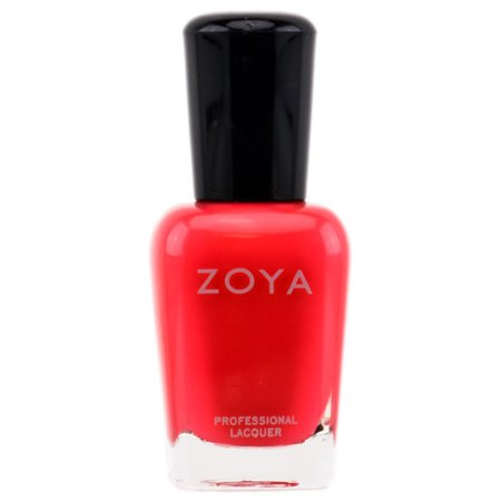 Zoya Natural Nail Polish - Red - Elodie - ZP441 - White And Red Halloween Nails