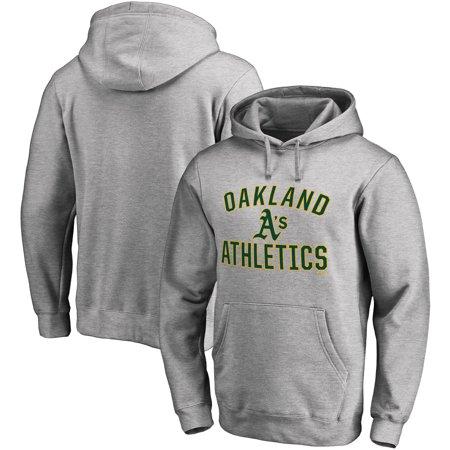 Oakland Athletics Fanatics Branded Victory Arch Pullover Hoodie - Heathered  Gray - Walmart.com 1001562f0