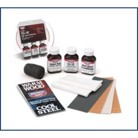 BIRCHWOOD CASEY TRU-OIL STOCK FINISH KIT WOOD FINISH 9 PIECE