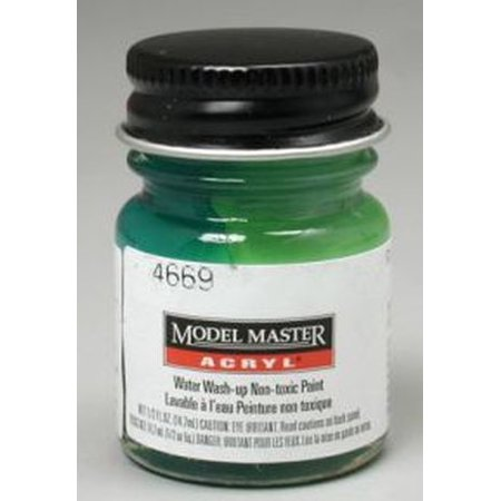 Gloss Green Testors Acrylic Plastic Model Paint