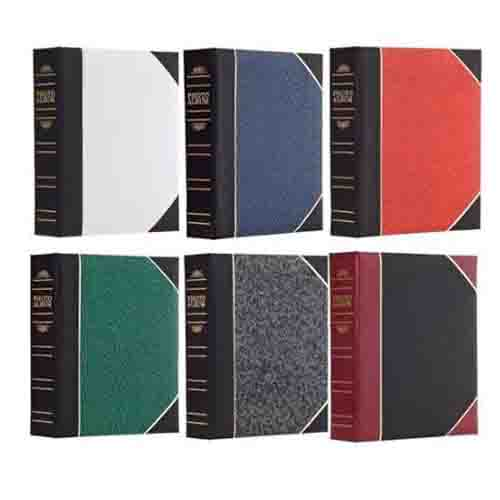 "Pioneer Photo Albums BT46 4"" x 6"" 2-up 200 Pocket Album w/Memo Writing Strips (Color Varies)"