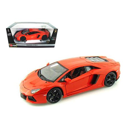 2012 Lamborghini Aventador LP700-4 Orange 1/18 Diecast Model Car by (Lamborghini Aventador Lp700 4 Price In India)