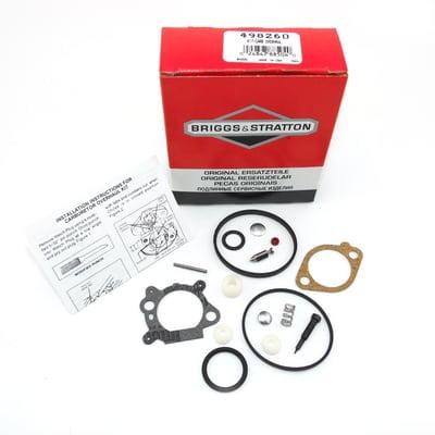 Briggs Stratton Oem Parts - OEM 498260 Briggs & Stratton Carburetor Kit