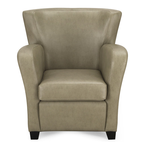 Adeco Trading Leather Arm Chair