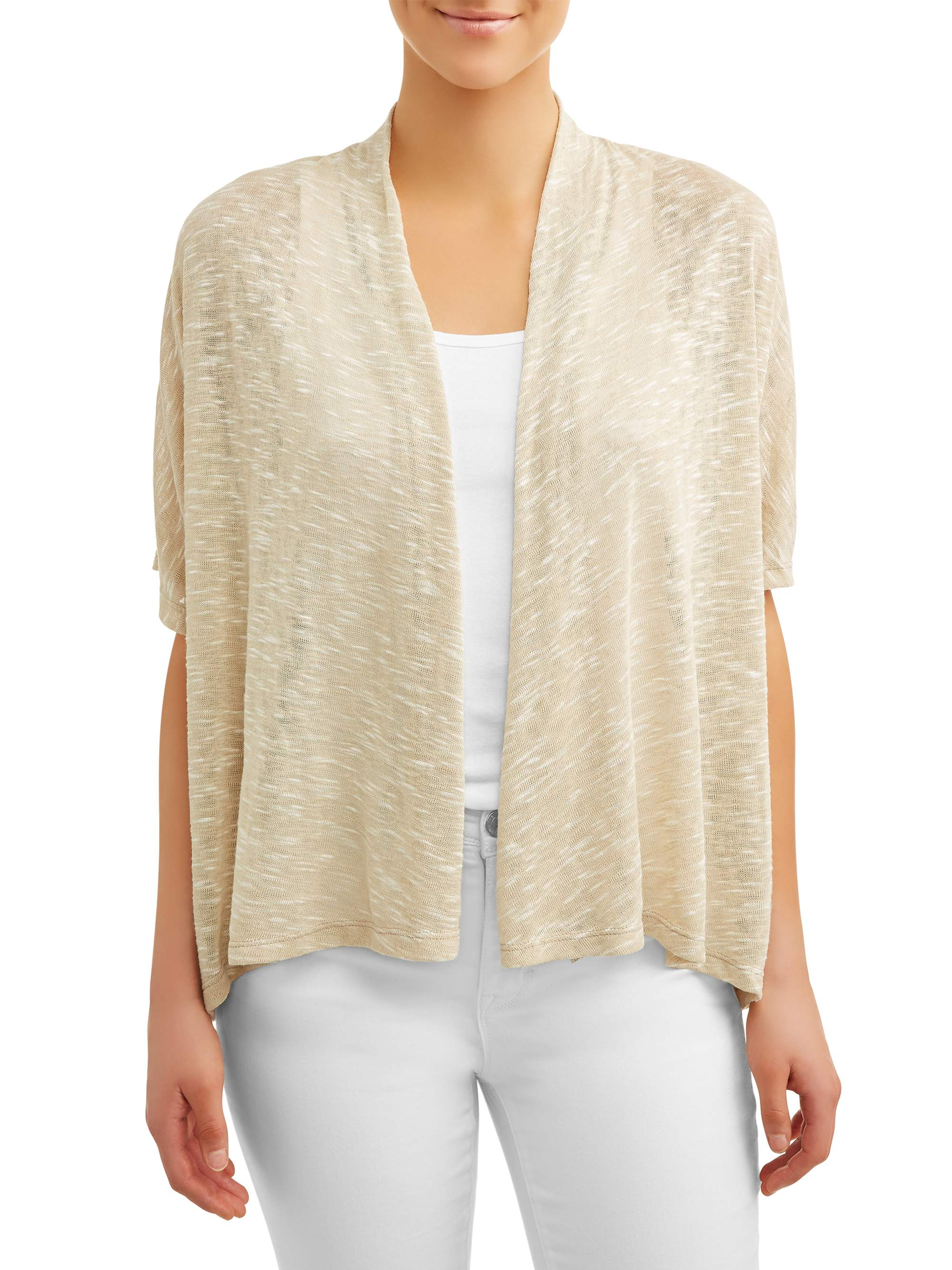 Women's Lightweight Open Front Cardigan