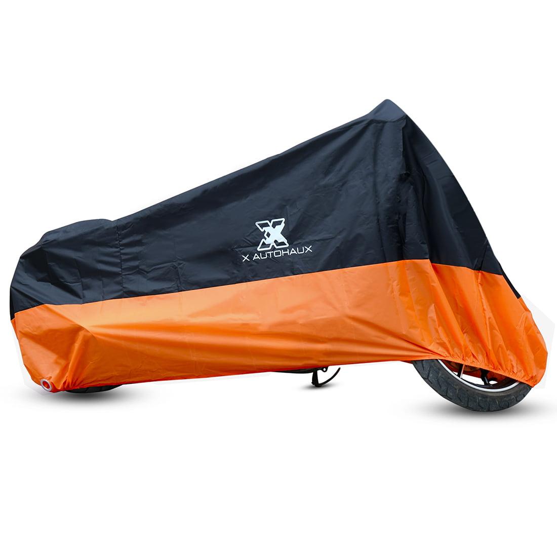 Waterproof Motorcycle Motor Cover XXL Outdoor Rain Dust Protector Drawstring Bag