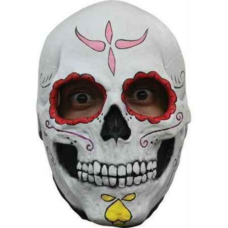 Morris Costumes TB26456 Catrina Skull Latex Mask