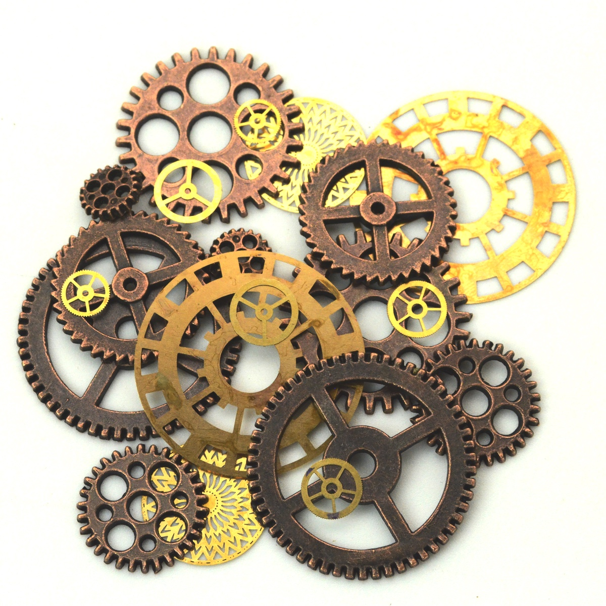 Bag Set Victorian Gears&Cogs Steampunk Jewelry/Hat Accessories Costume Accessory