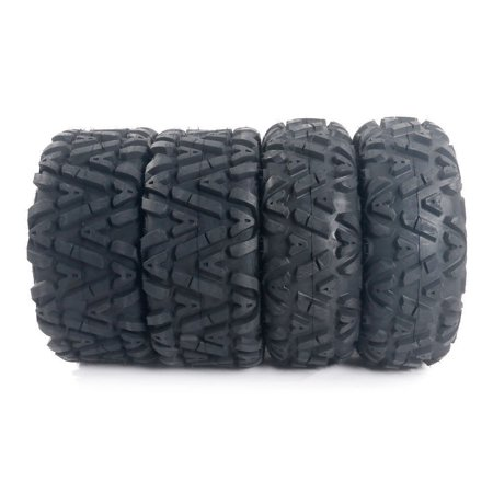 """Zimtown 4 New 26x9-12 26x11-12 big Tire Set Four ATV TIRES 6 PLY 26"""" Horn Front Rear"""