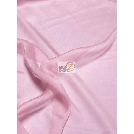 Solid Hi-Multi Chiffon Dress Fabric / Mauve / Sold By The - Frame Mauve Fabric