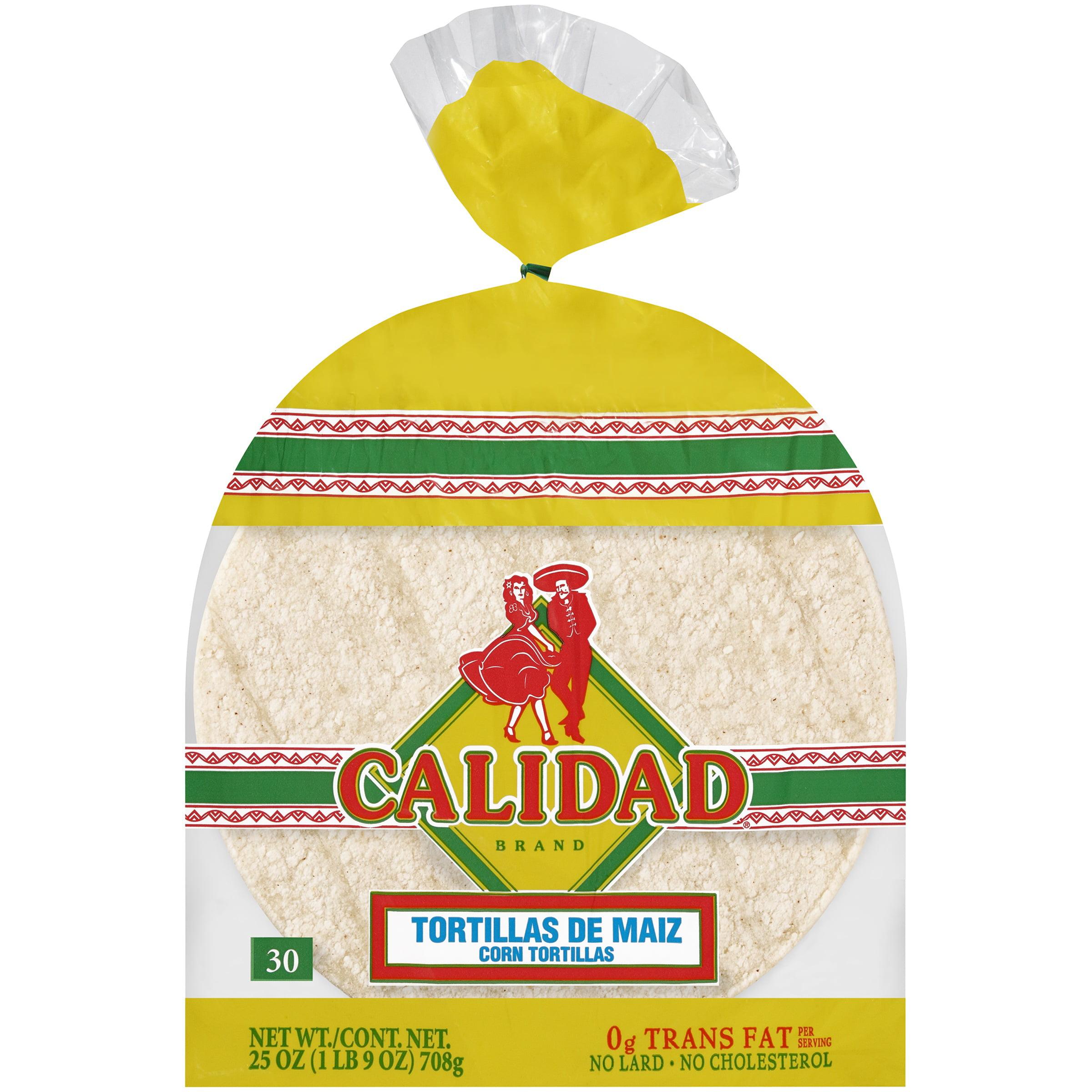 Calidad® Corn Tortillas 25 oz. Bag