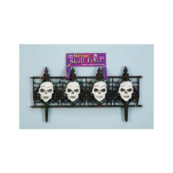 Gothic Skull Fence Halloween Decoration - Make Pvc Halloween Fence