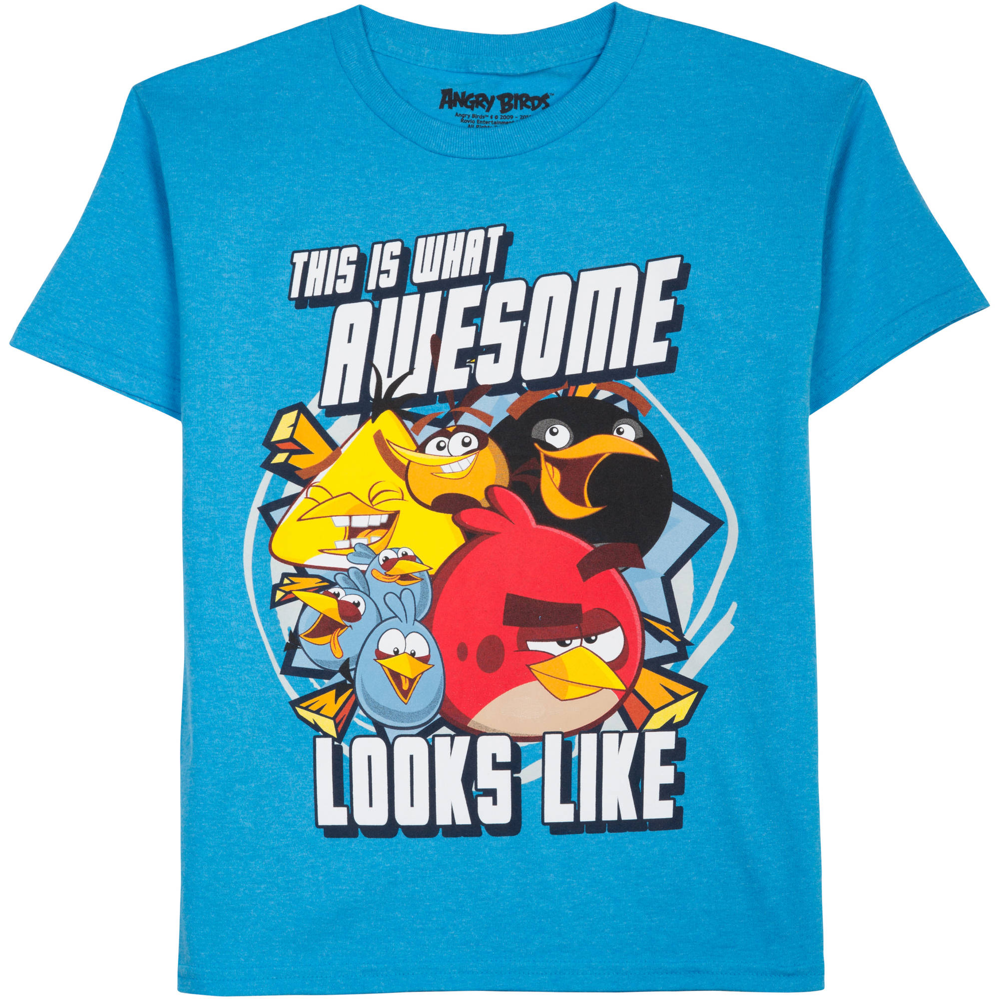 Angry Birds Boys' Looks Awesome Graphic Tee