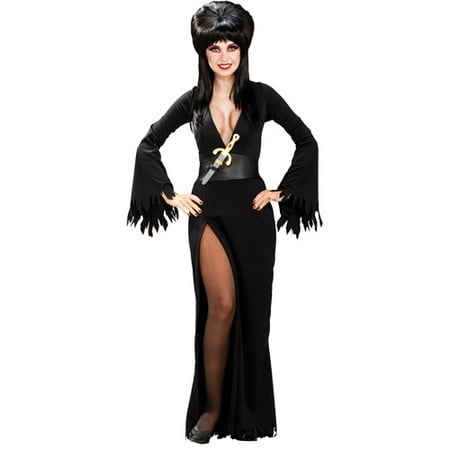 Elvira Adult Halloween Costume (Homemade Elvira Halloween Costume)