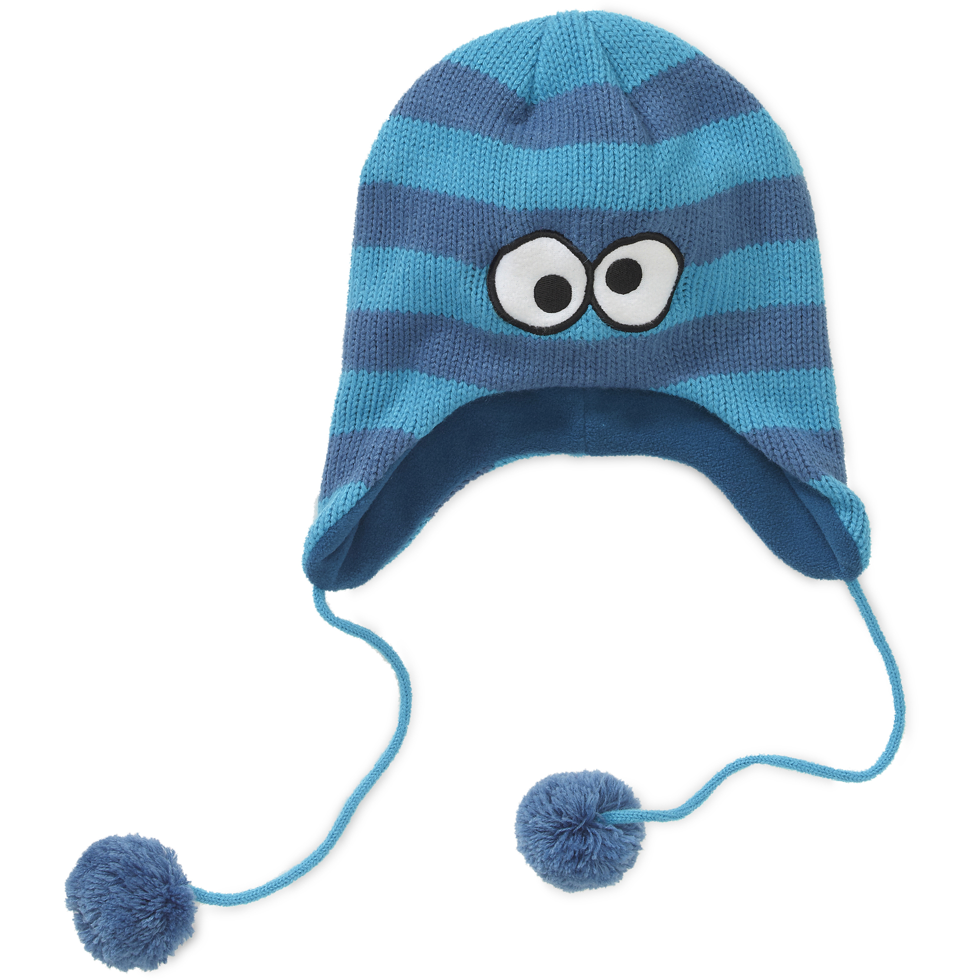 Sesame Street Cookie Monster Striped Peruvian Critter Hat