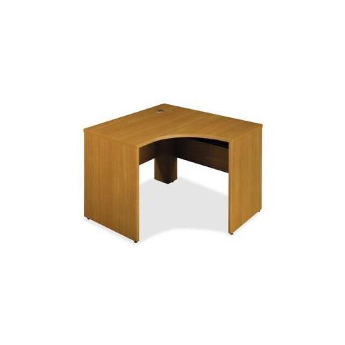Left Corner Desk Shell,47-3/8x42-1/8x30,Modern Cherry