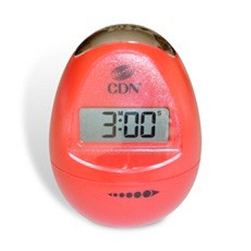 CDN Digital Egg Shaped 100 Minute Kitchen Cooking Timer Red TM12-R