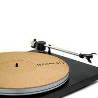 "CoRkErY Recessed Turntable Platter Mat   Audiophile Anti-Static Slipmat   1/8"" Recessed"
