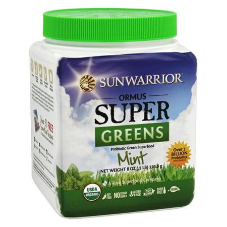 Sunwarrior Ormus Organic Supergreens, Mint, 1.0 (Best Ormus On The Market)