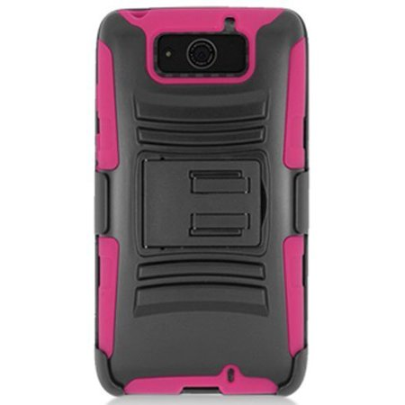 Aimo Wireless Xtreme Rugged Armor Case with Holster and Swivel Belt Clip Combination for Motorola DROID Ultra XT1080 - Retail Packaging - Hot - Swivel Retail Package