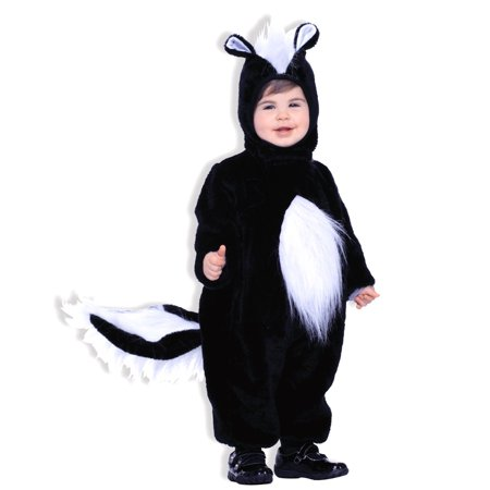 PLUSH SKUNK kids animal toddler jumpsuit halloween costume boys girls SMALL for $<!---->