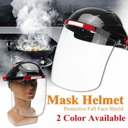 Cekuan Grinding Protection Safety Face Shield Headgear Clear Glasses Mask Face Protection - Headgear Face Shield