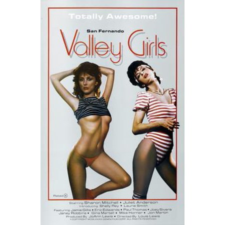 San Fernando Valley Girls Movie Poster 11x17 Mini