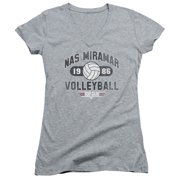 Top Gun Nas Miramar Volleyball Juniors V-Neck Shirt