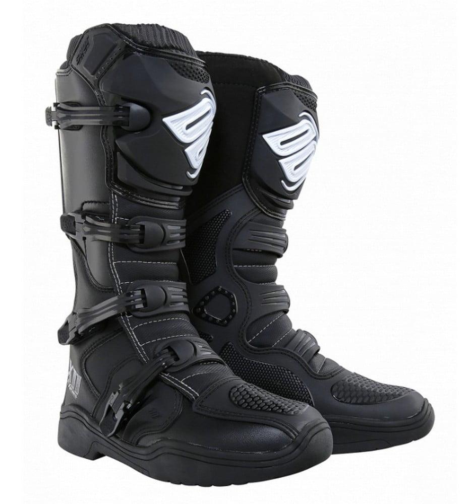 Shot X11 Mens MX Offroad Boots Black