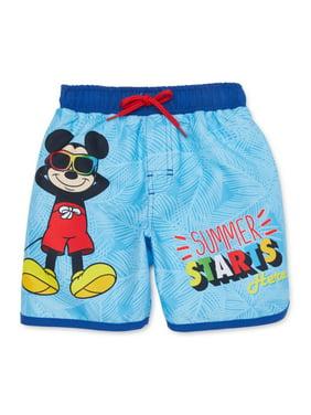 Mickey Mouse Baby Toddler Boy Swim Trunks