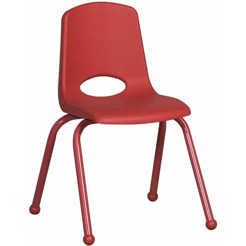 "ECR4Kids 10"" Stack Chair, Matching Legs"